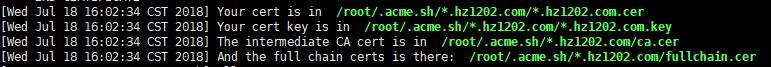 《使用 acme.sh 获取网站SSL证书并配置https访问,核心说明》